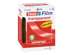 tesafilm® transparent – Office-Box transparent, Bandgröße: 15 mm x 66 m